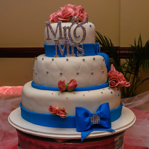Stacked Three Tier Cake