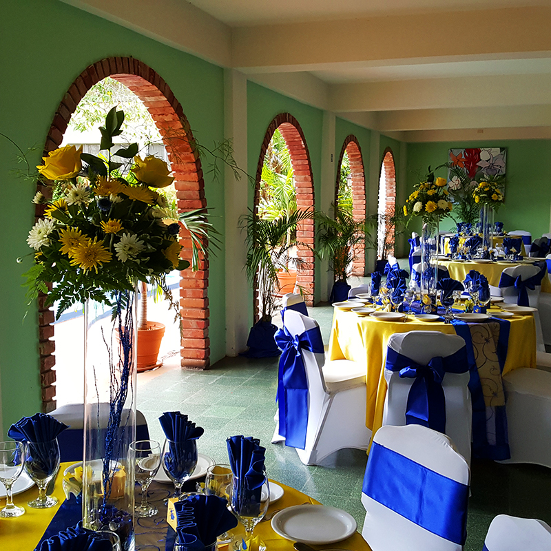 Wedding reception in the Arches Restaurant