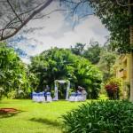 Garden Wedding, Mandeville Hotel