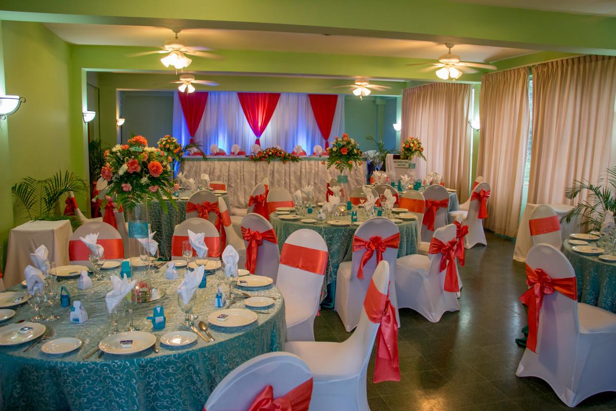 Wedding in the Tangerine Lounge